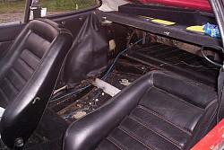 Opel gt innenraum